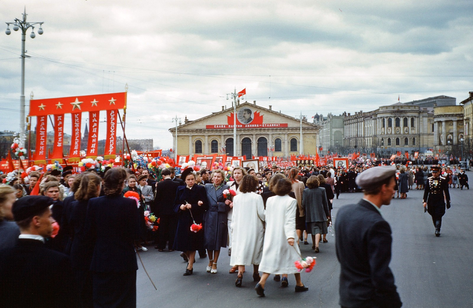 Color photographs of the USSR in 1953