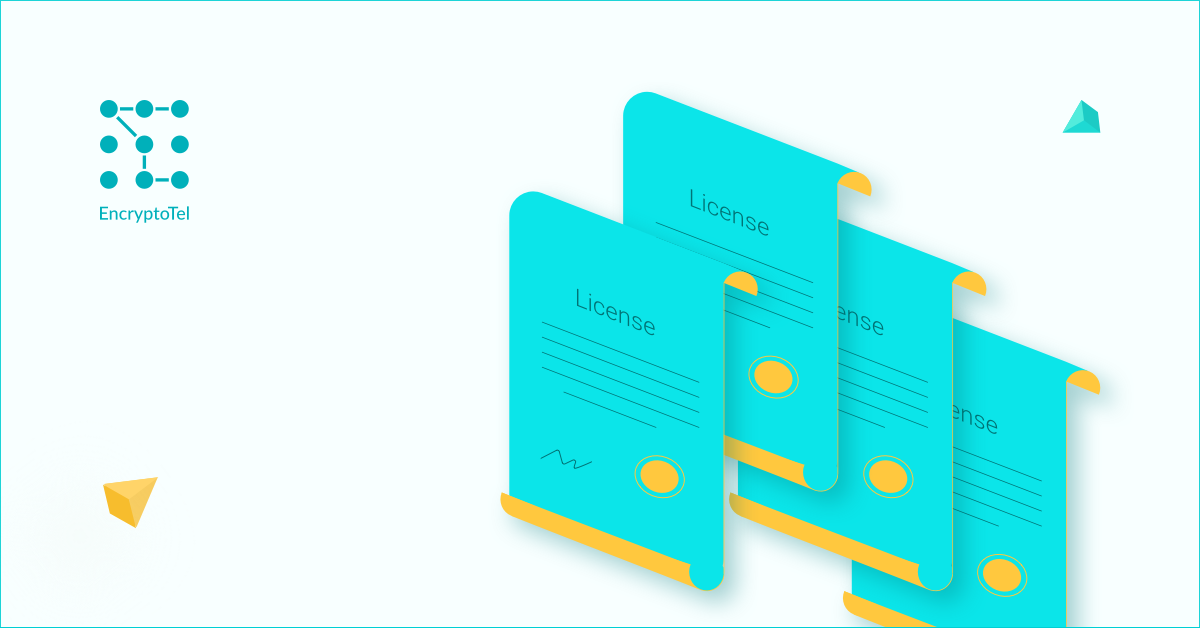 medium.com - EncryptoTel - EncryptoTel received 4 licenses for the provision of telecommunications services
