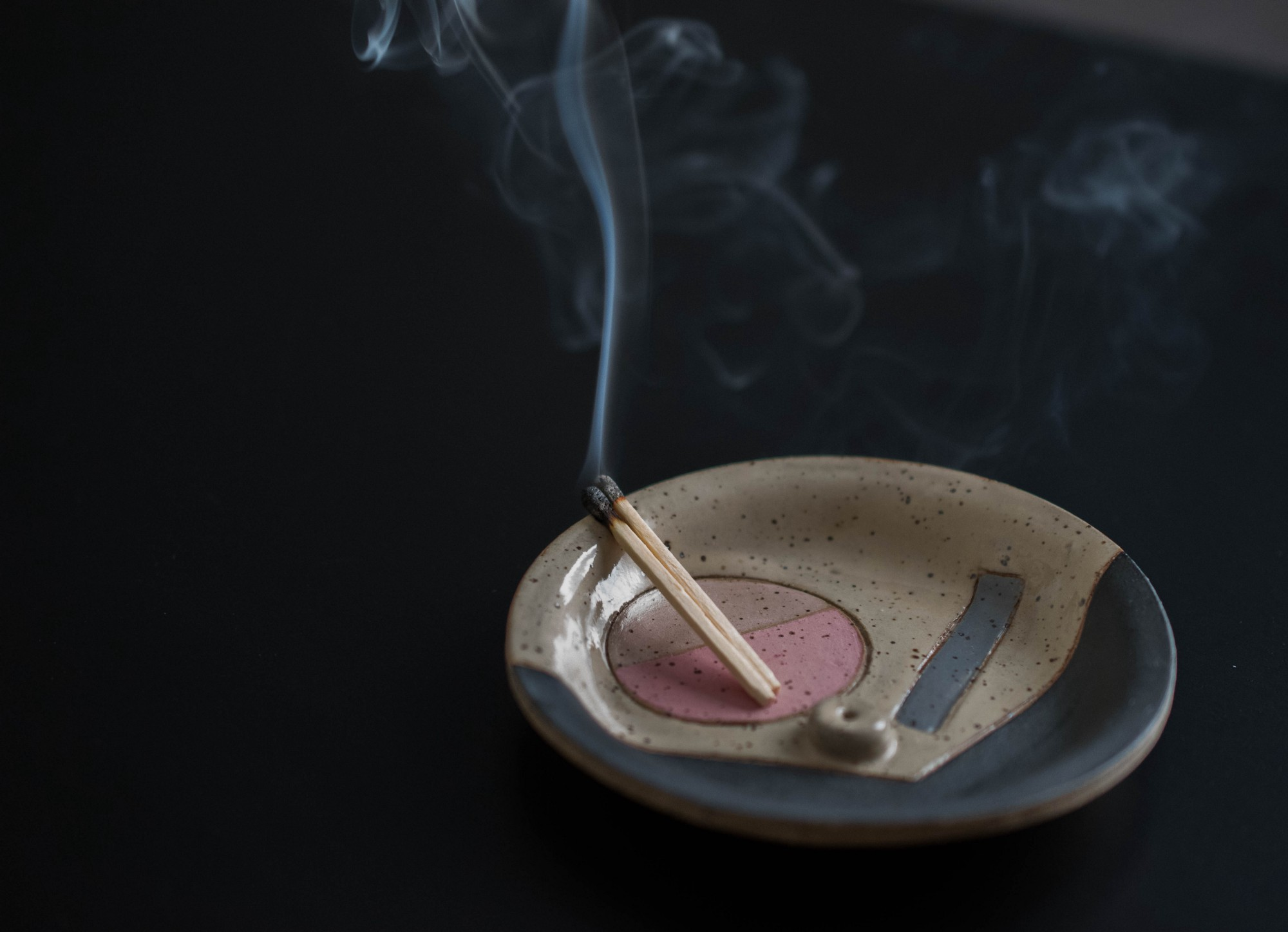 Handmade Incense Catchall Dish by Gabrielle Silverlight