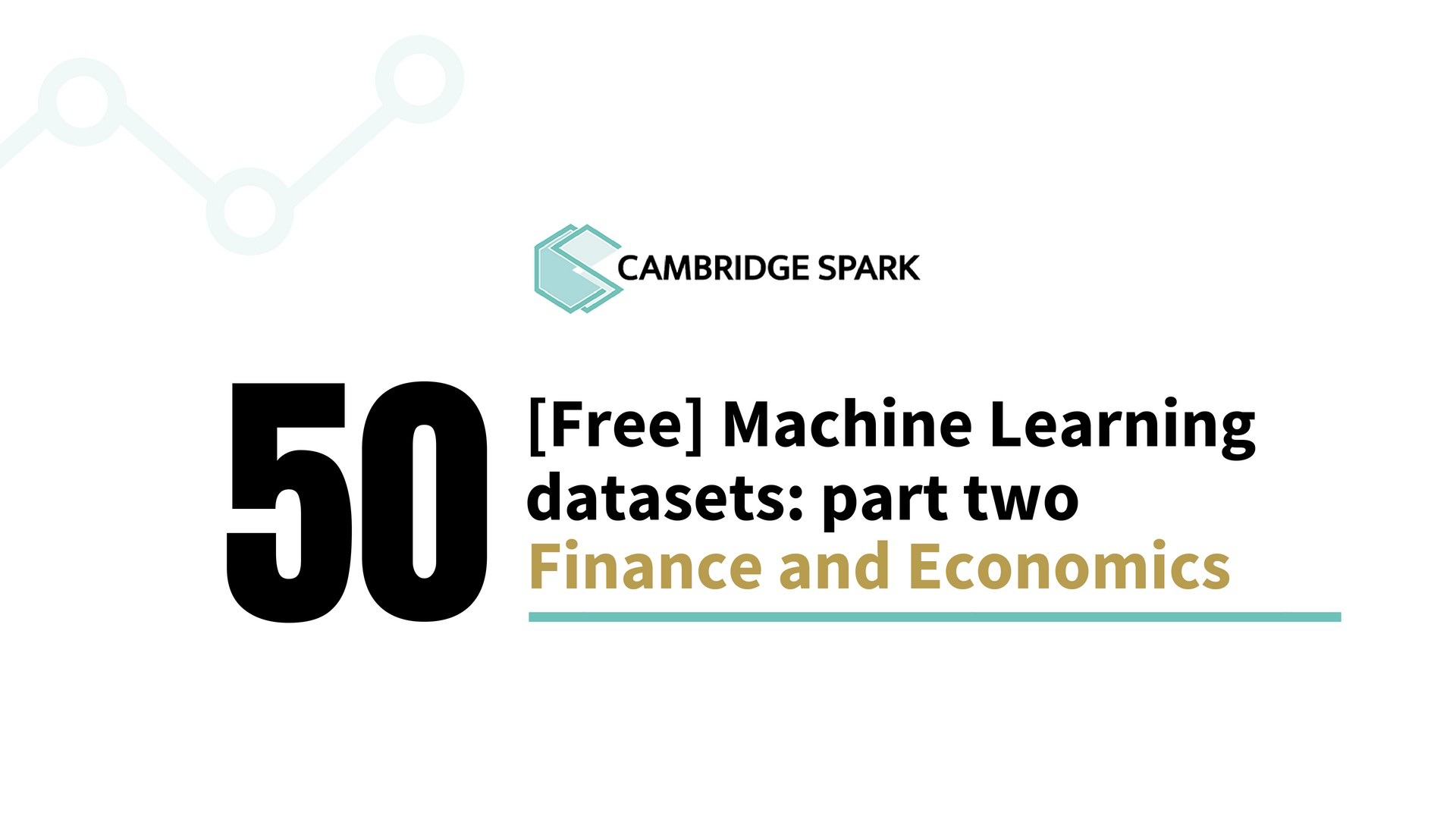 50 free machine learning datasets finance and economics