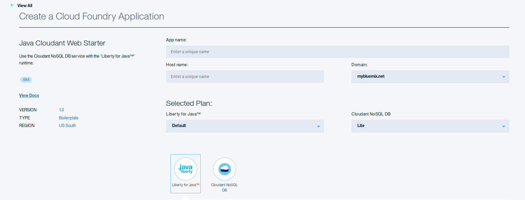 Ibm cloud platform boilerplates guide julia nash medium a boilerplate for java cloudant the way you set it up and utilize the boilerplate is the same as it appears within the original tutorial above we did baditri Image collections