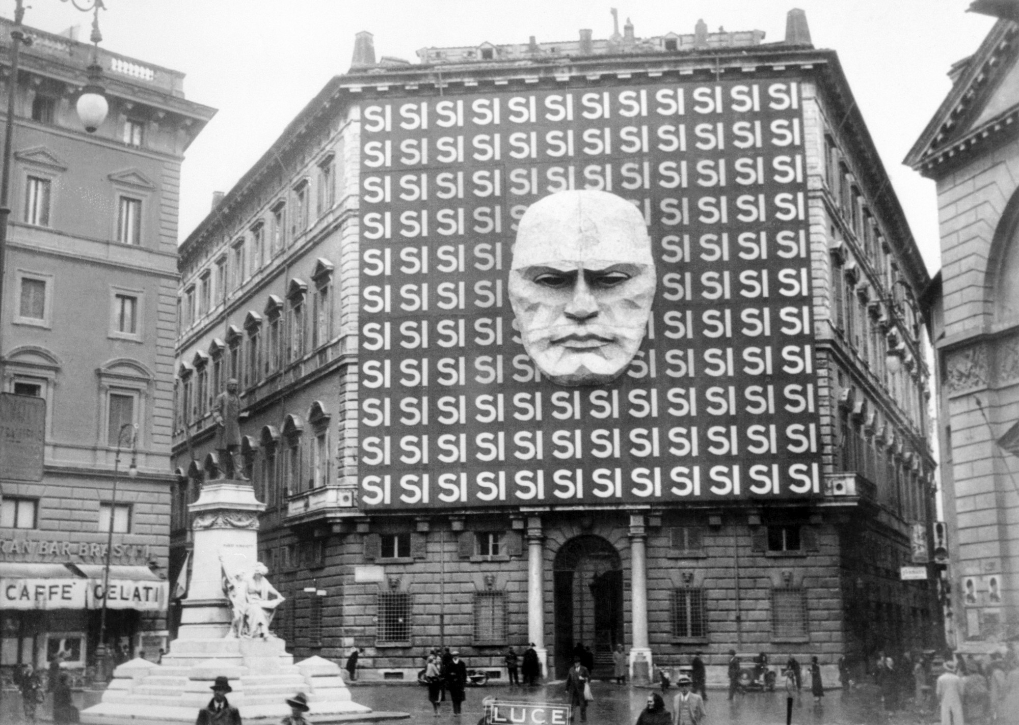 fascism under mussolini in italy Italy under mussolini is no doubt a serious menace to world peace  of the  italian people were happy and contented under fascist rule-—as is.