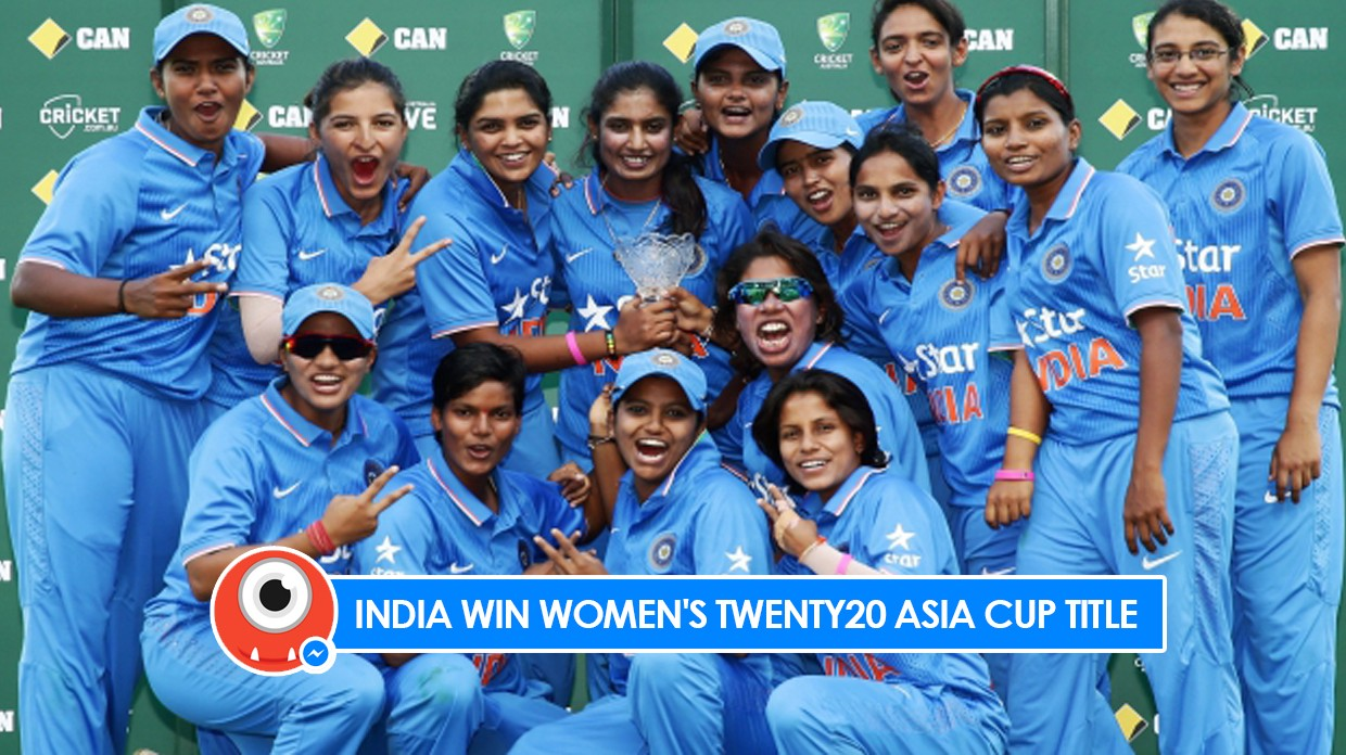 Indian Womens Cricket Team Defeats Pakistan To Win Asia Cup T20 Title