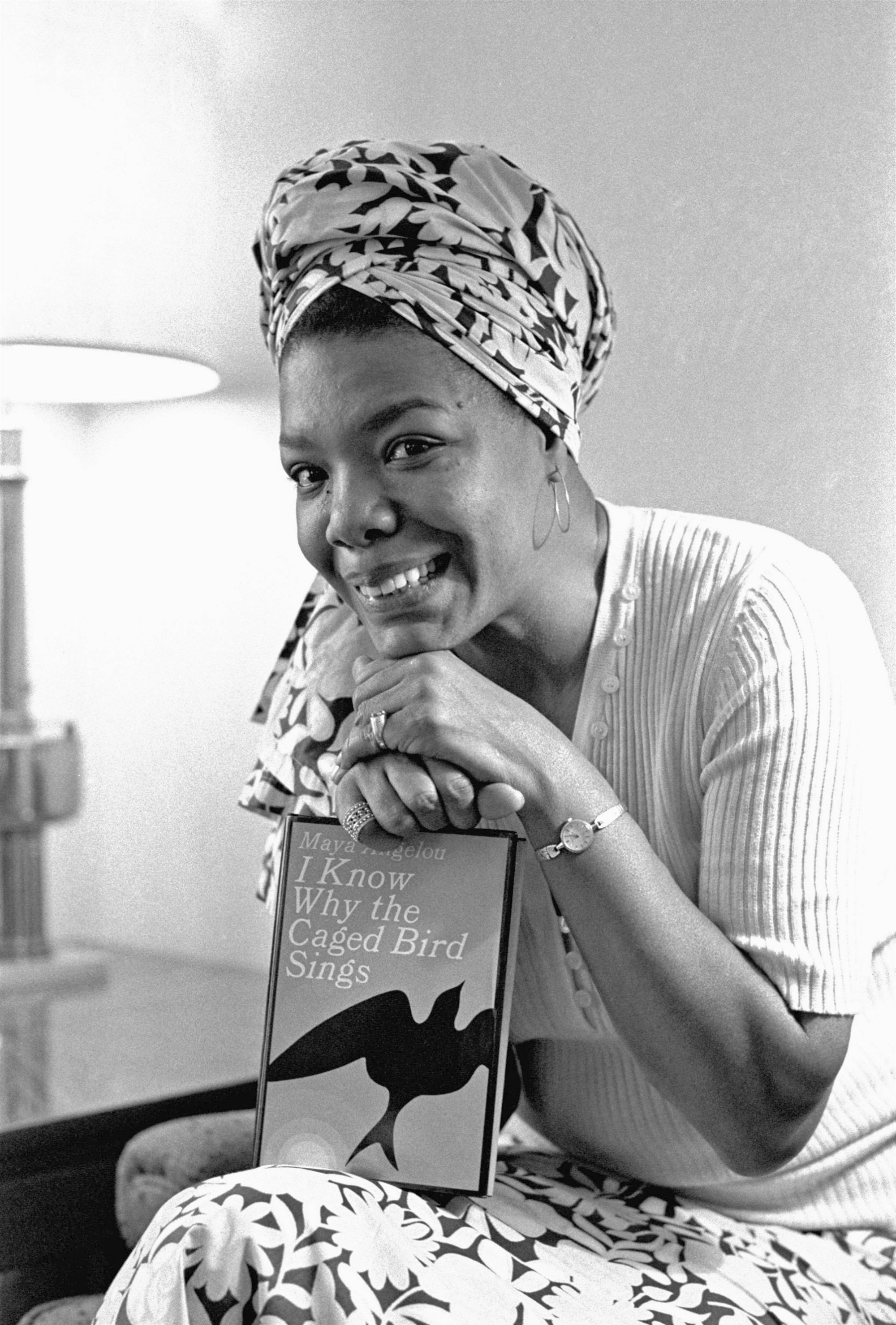 Maya Angelou wrote her first book because her editor said she couldn't
