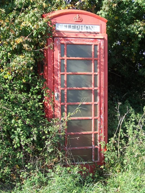 The telephone boxes of today