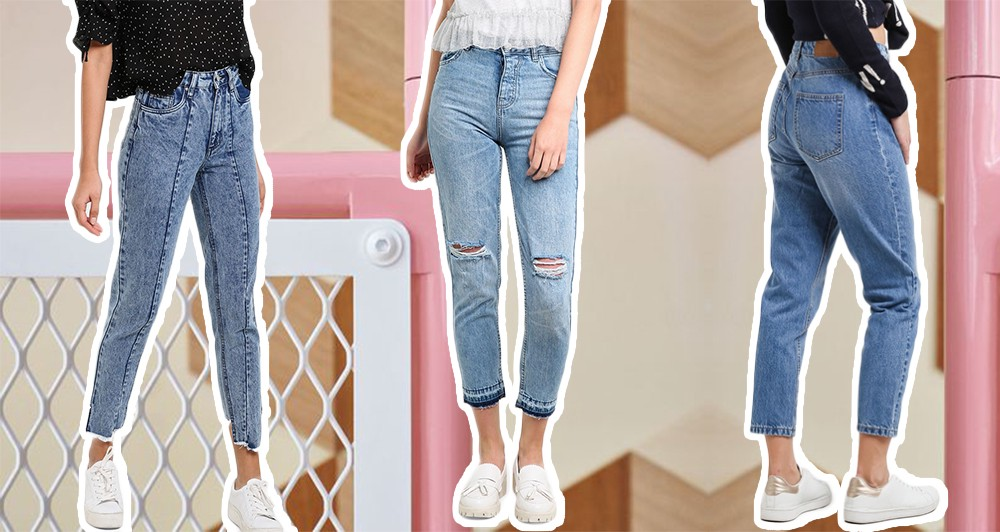 Style Definition Mom Jeans Thread By Zalora Philippines