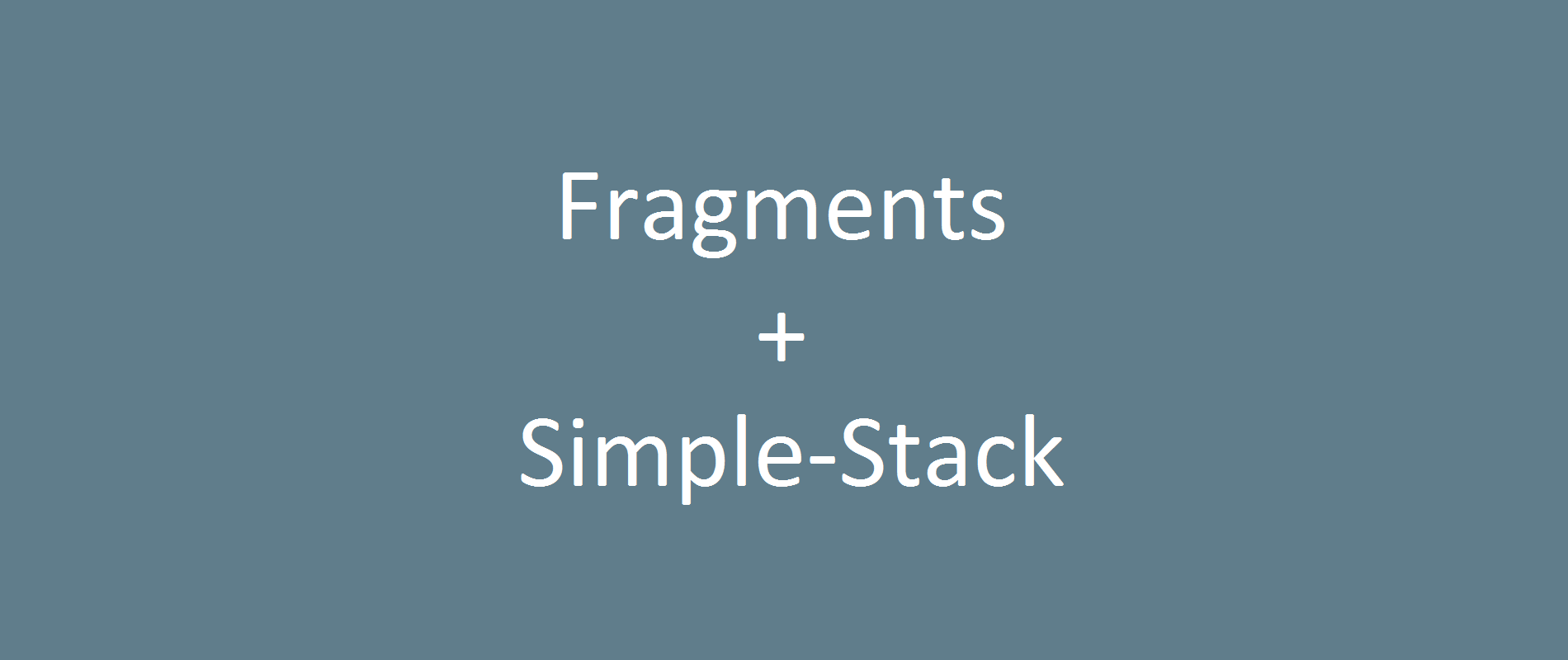 Simplified Fragment Navigation Using A Custom Backstack And Commitnow C How To Draw Diagram Control Stack Overflow