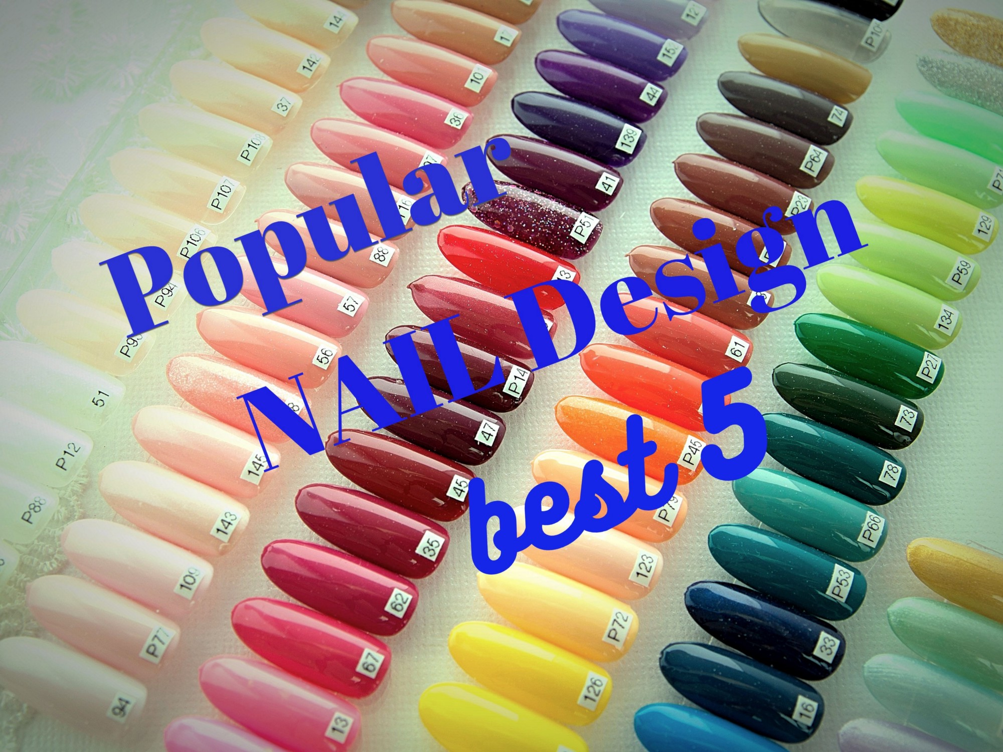Japanese Nail Art Top 5 Popular Designs Japan Travel Guide Jw