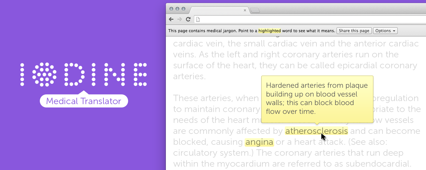 Get The Iodine Medical Translator Our New Chrome Extension
