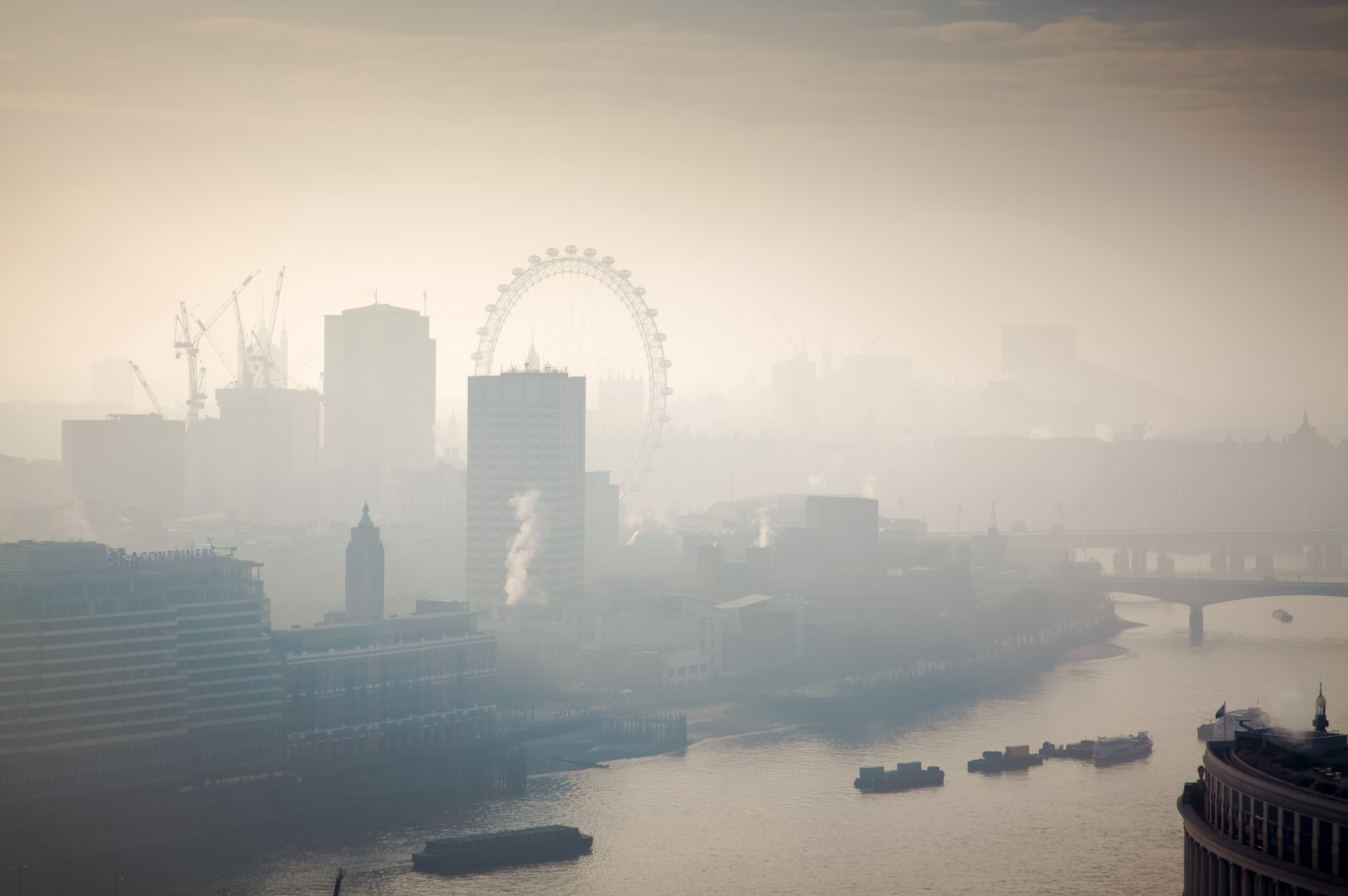 air pollution problem looming large Narrowing it down: buying a serious mask because air pollution is becoming a looming and obvious problem now by johnmelendez.