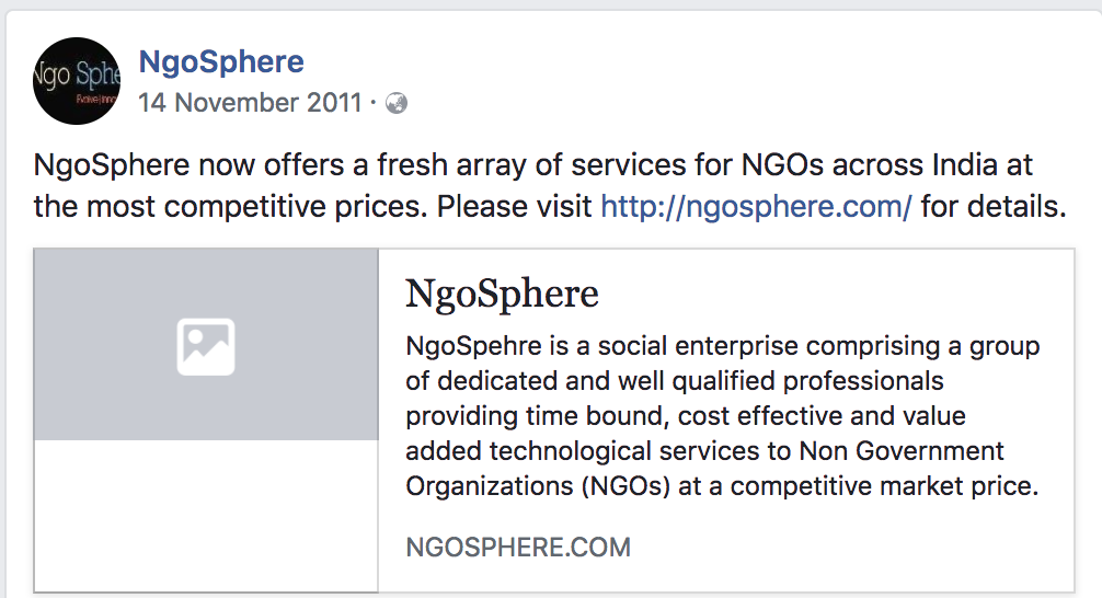 This was our announcement post on Facebook. We were happy to have our own startup. We were vain. And naive. But we tried.