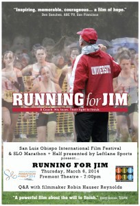 Running for Jim flyer