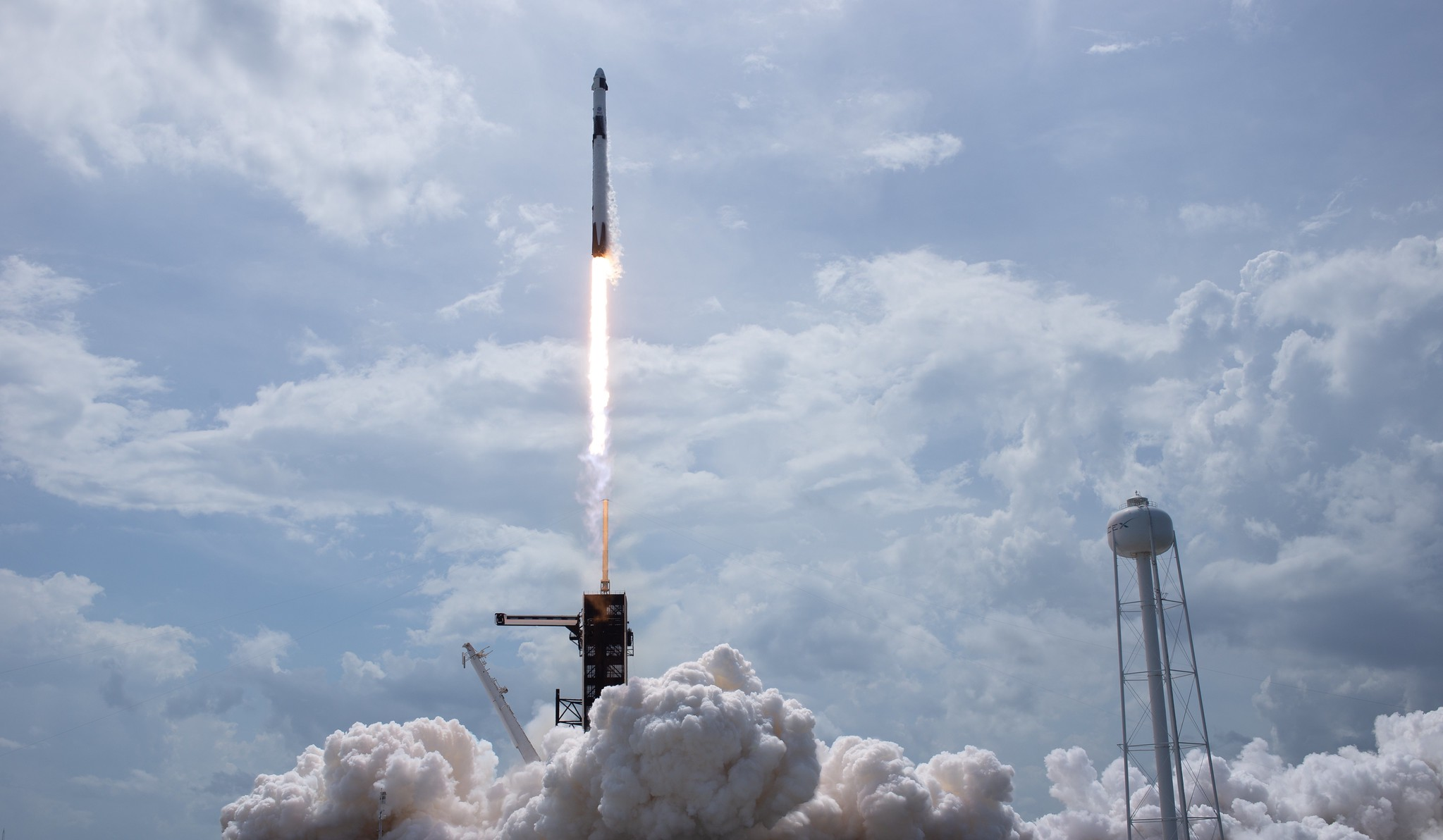 How NASA and SpaceX made history by launching American astronauts into