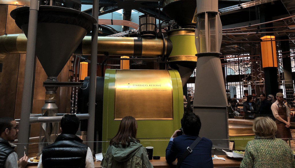 Starbucks Roastery, Milan