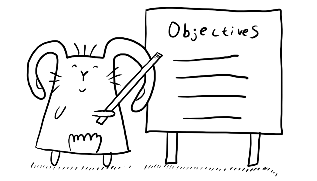 Plan your objectives. Illustration by Author