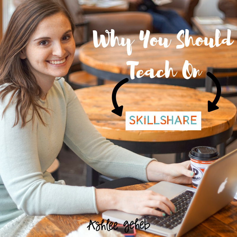 6 Reasons You Should Teach a Skillshare Class – The Ascent