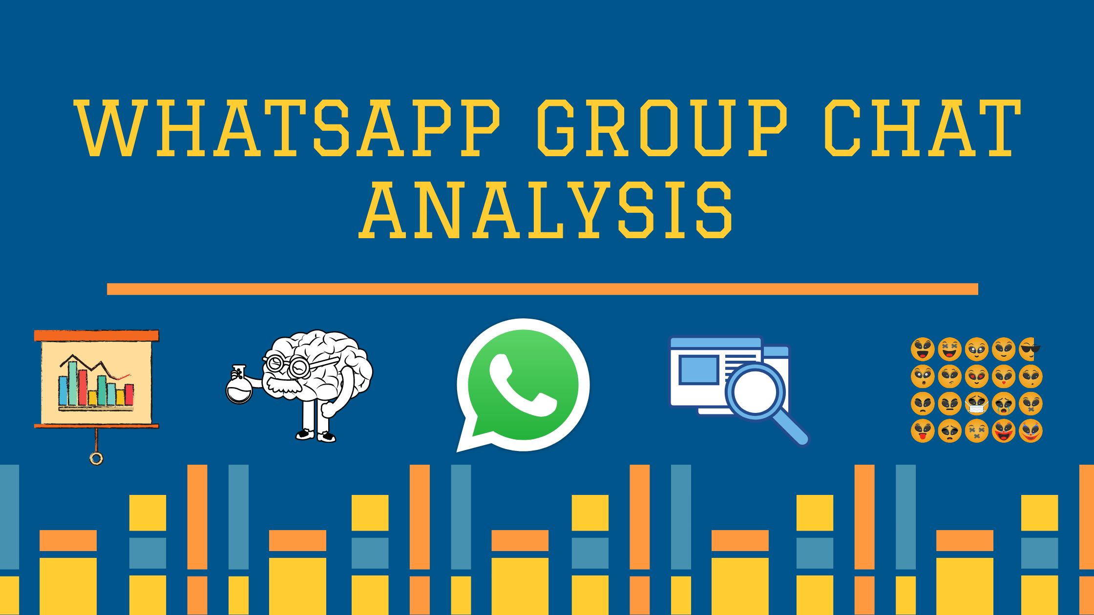 Whatsapp Group Chat Analysis using Python and Plotly