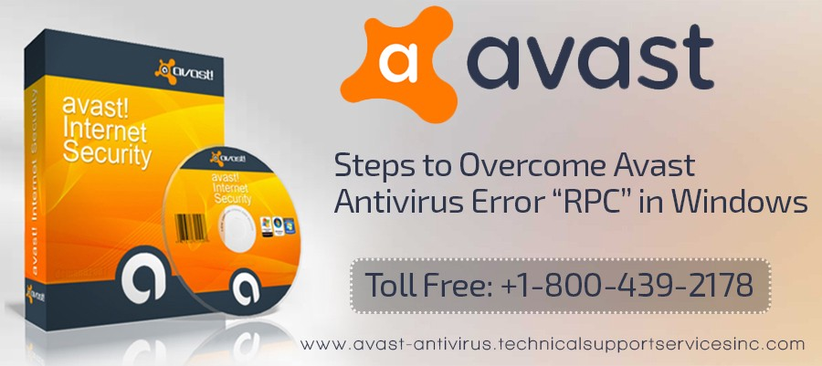 avast information the rpc server is unavailable