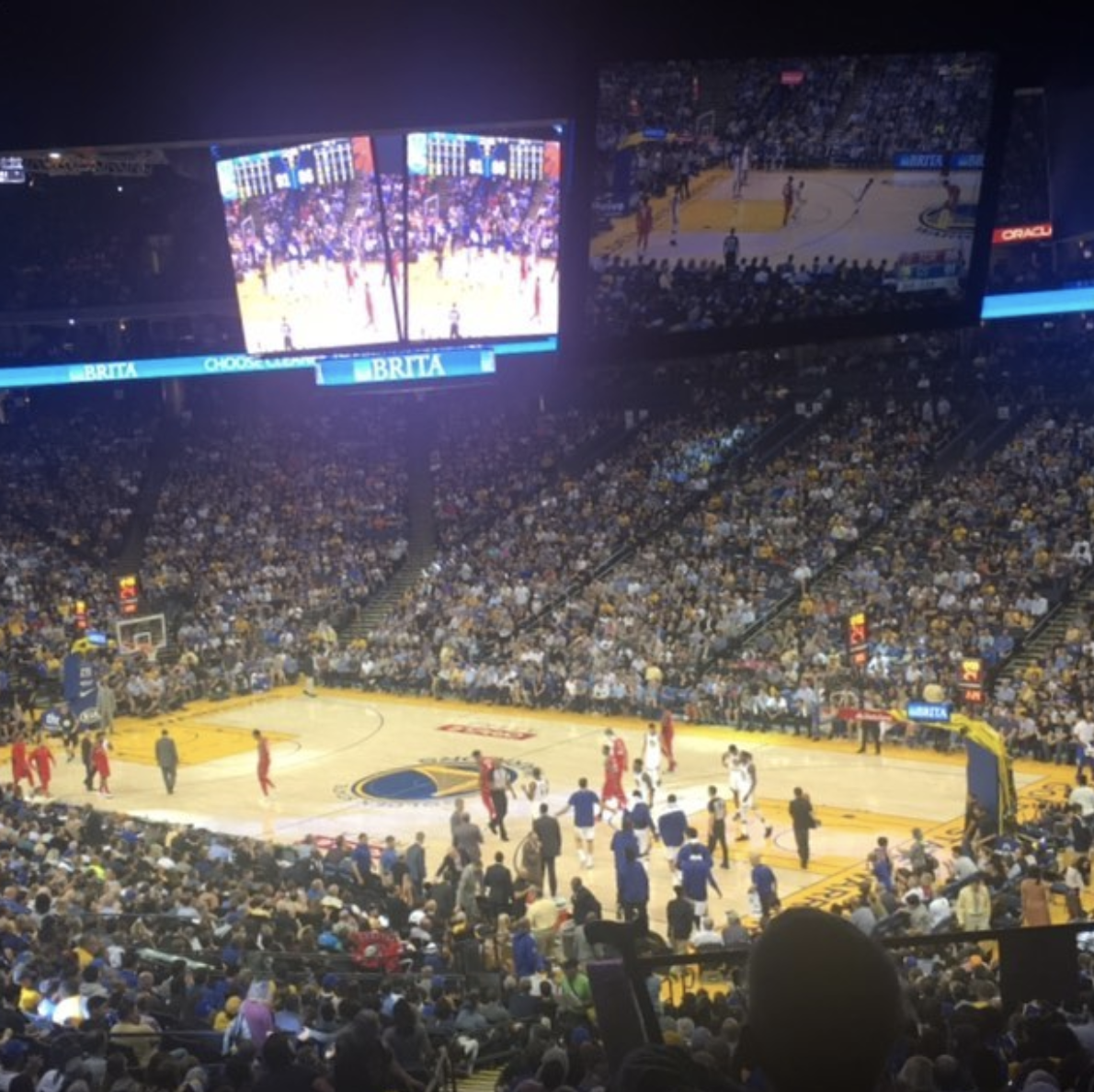 Golden State game!