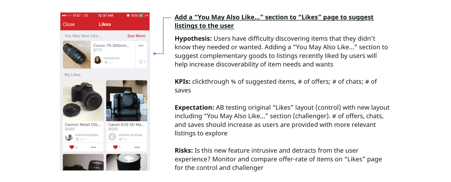 165d6177199 Carousell Design Challenge  UX Personalization – UX Collective