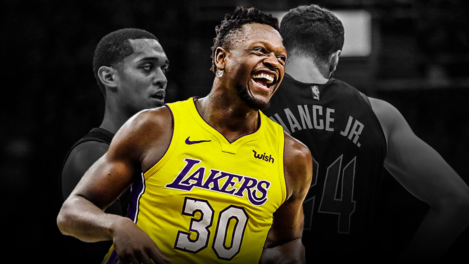 0f45c243a16 Julius Randle s journey from trade bait to budding superstar should make  the Lakers think twice before trading any more of their talented young core.