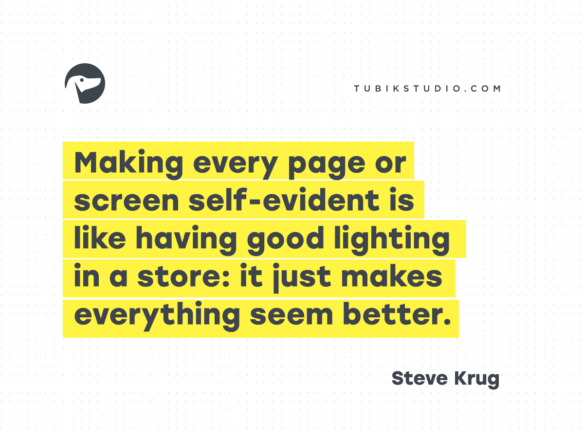 Dont Make Me Think 20 Wise Thoughts About Usability From Steve Krug