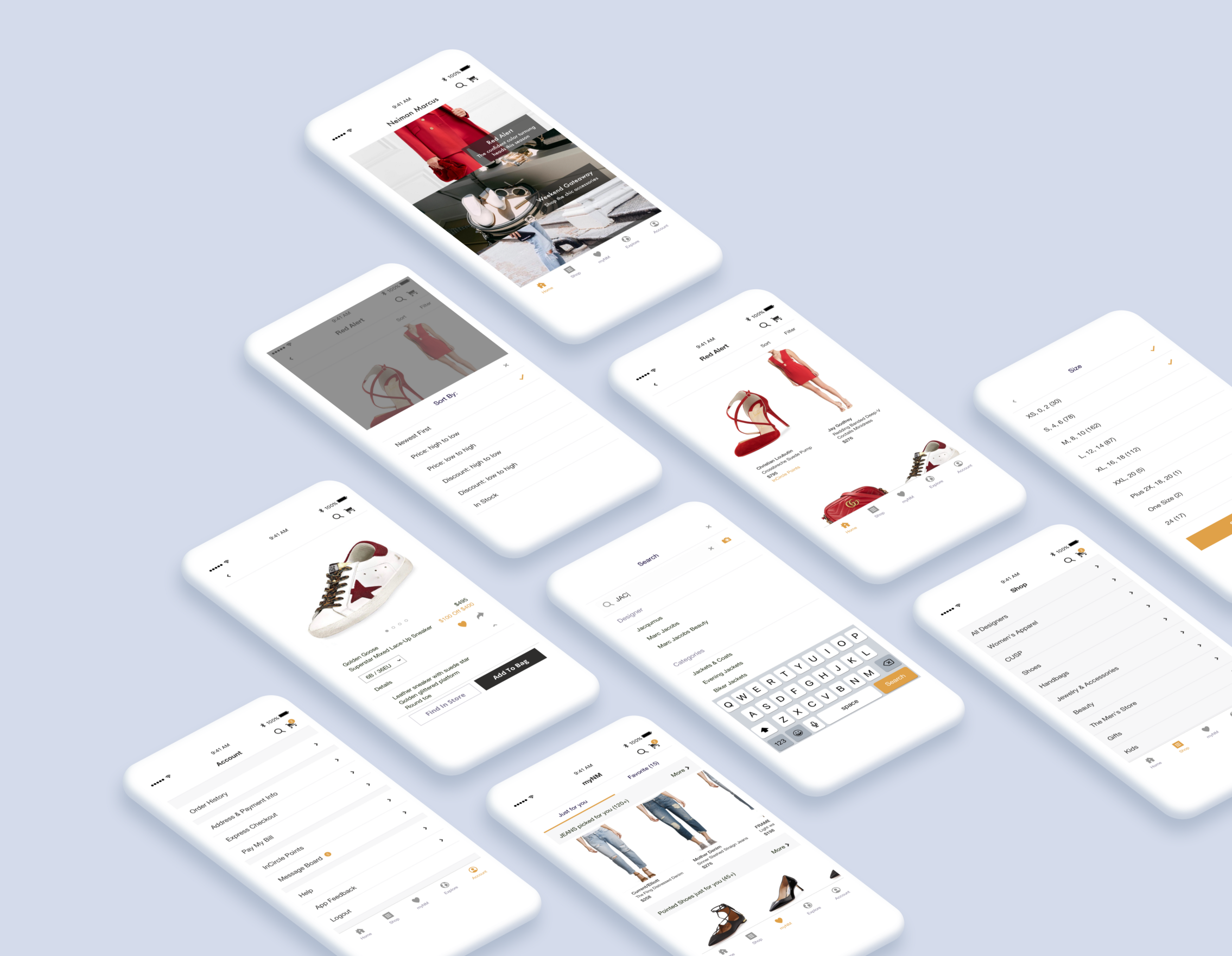 02f396a3e9c How I Redesign - Neiman Marcus iOS App – UX Planet