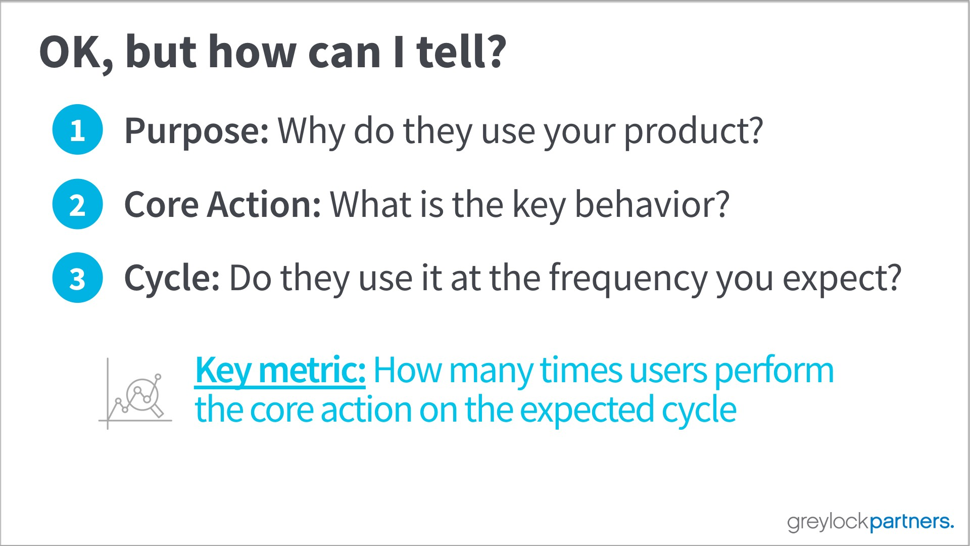 name one key activation metric