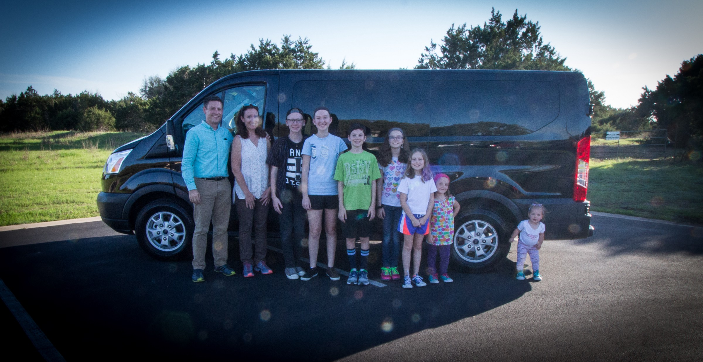 2017 Ford Transit Review Large Family Edition Marshall