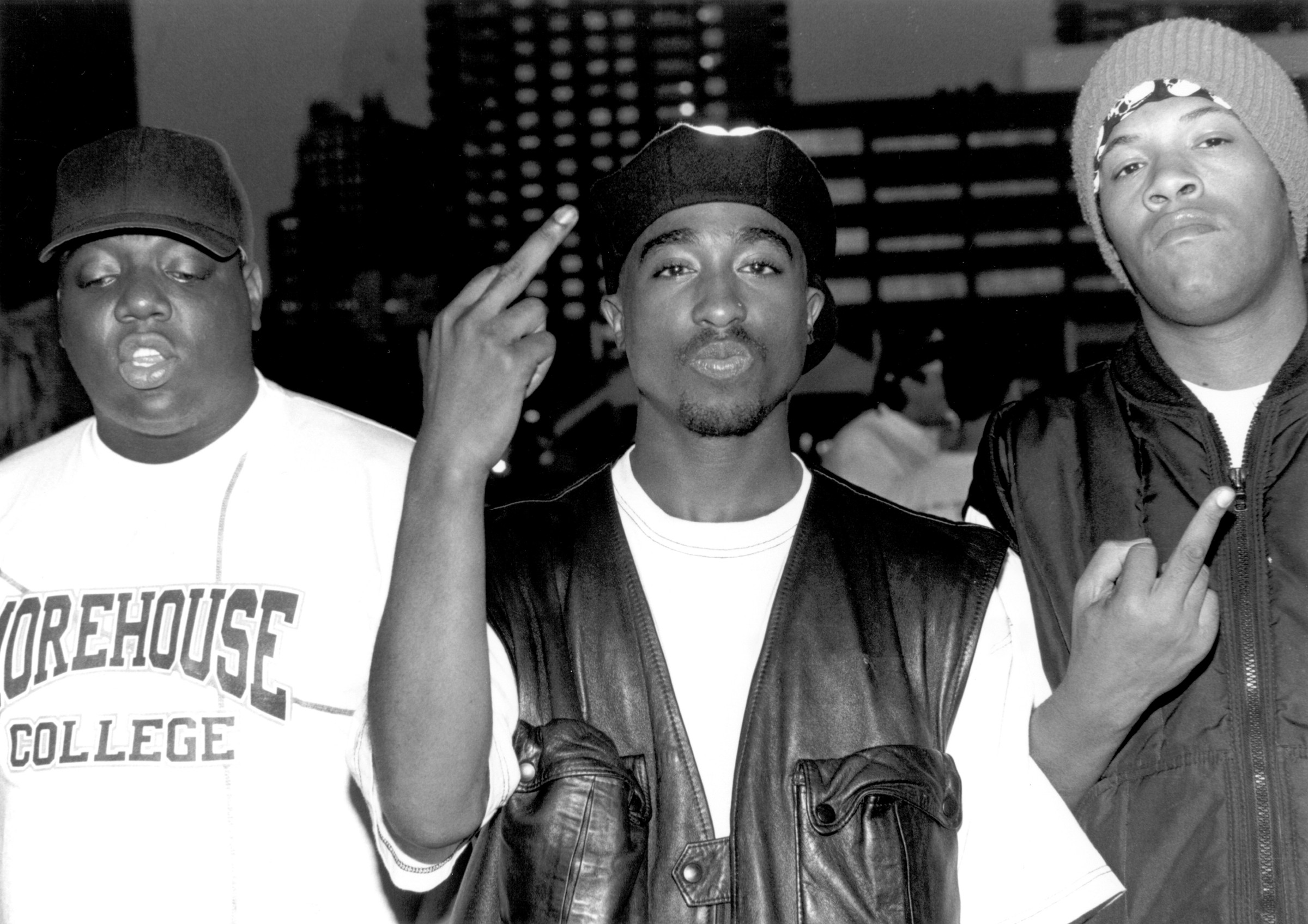 In more peaceful times rappers notorious b i g tupac and redman still made their sentiments clear
