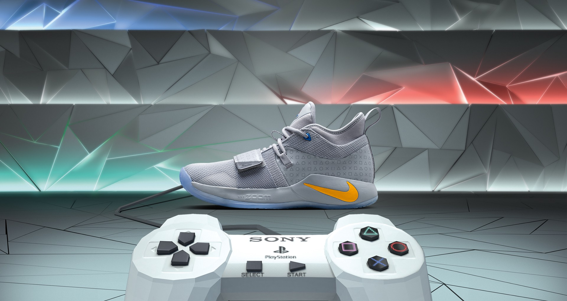 4f0db0e7974c PlayStation teams up with Paul George again for limited run sneakers