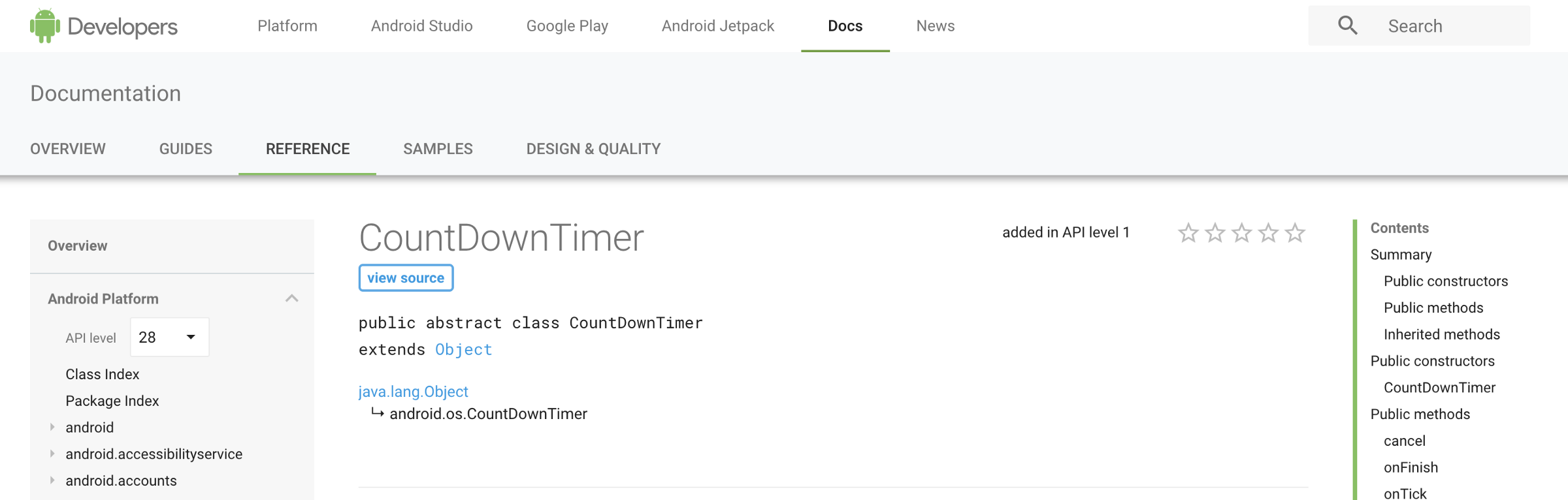 how android countdowntimer works? \u2013 tc \u2013 mediumofficial docs for countdowntimer