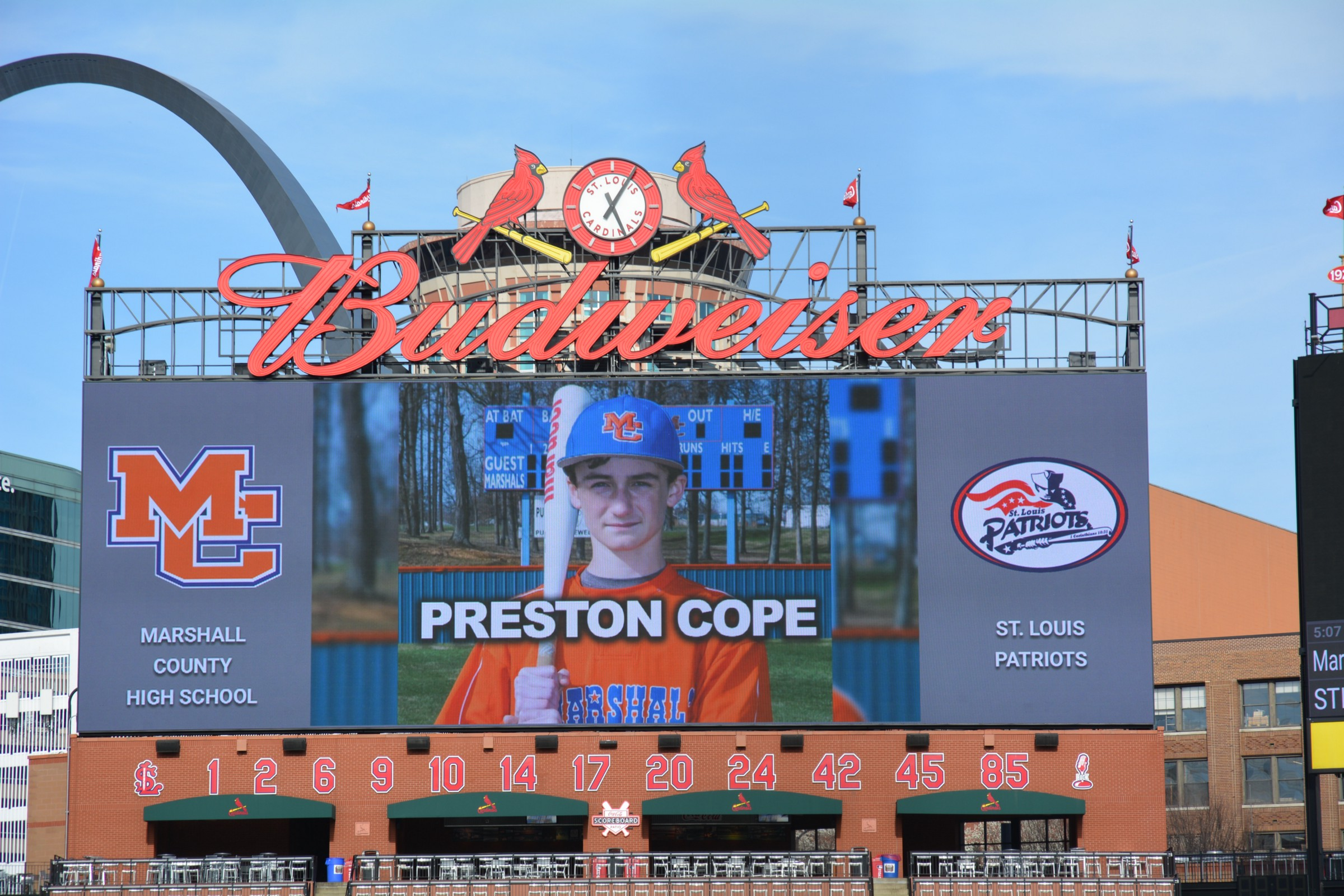 e7bb07f32 Fifteen-year-old Preston Cope was like millions of other kids across the  United States. He loved his family and he loved baseball. His favorite team  wore ...