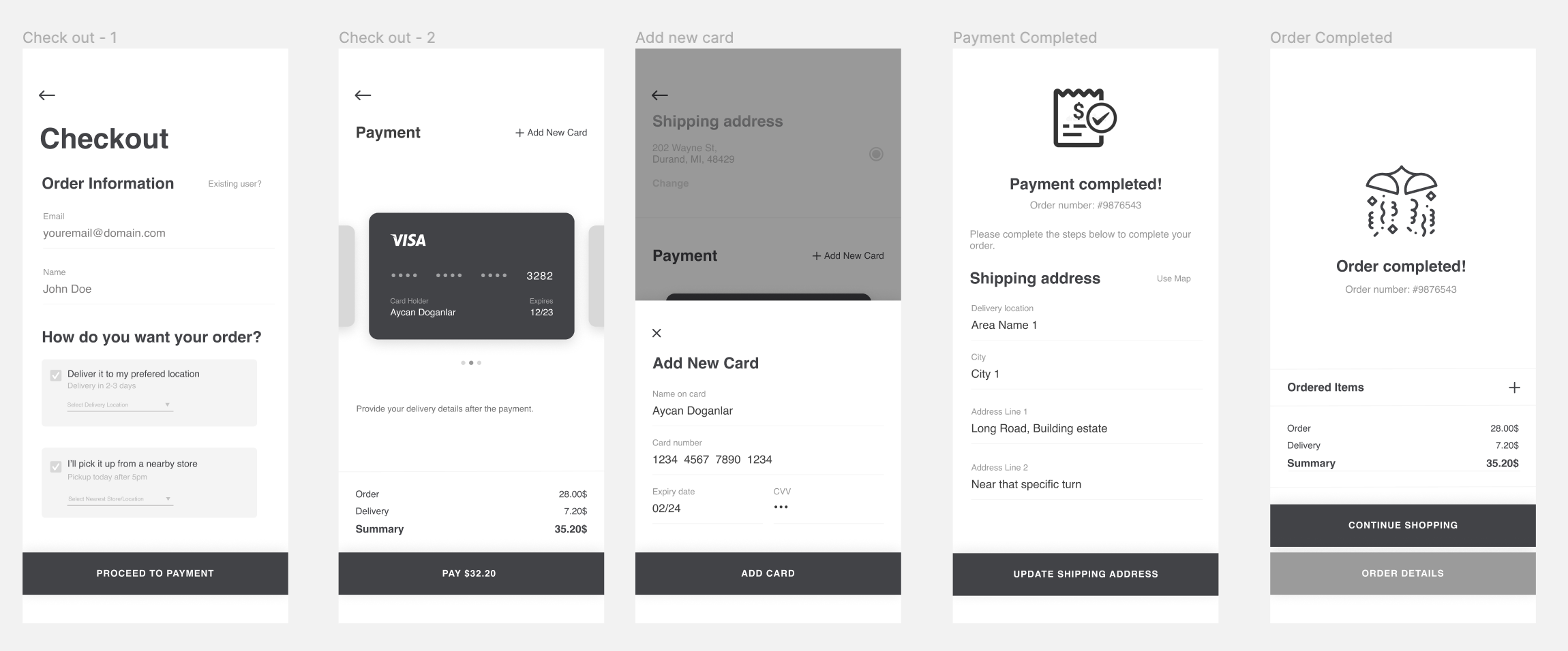 Payment-first checkout experience — a UX exploration 17