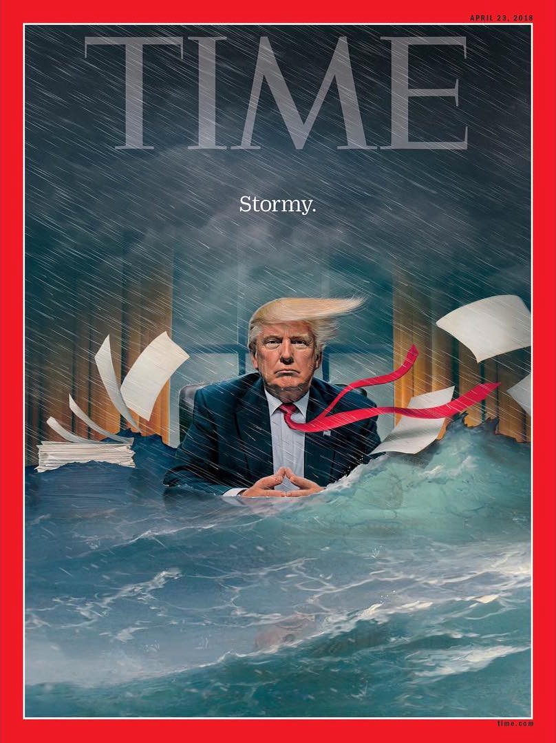 A Visual History of Trump Magazine Covers