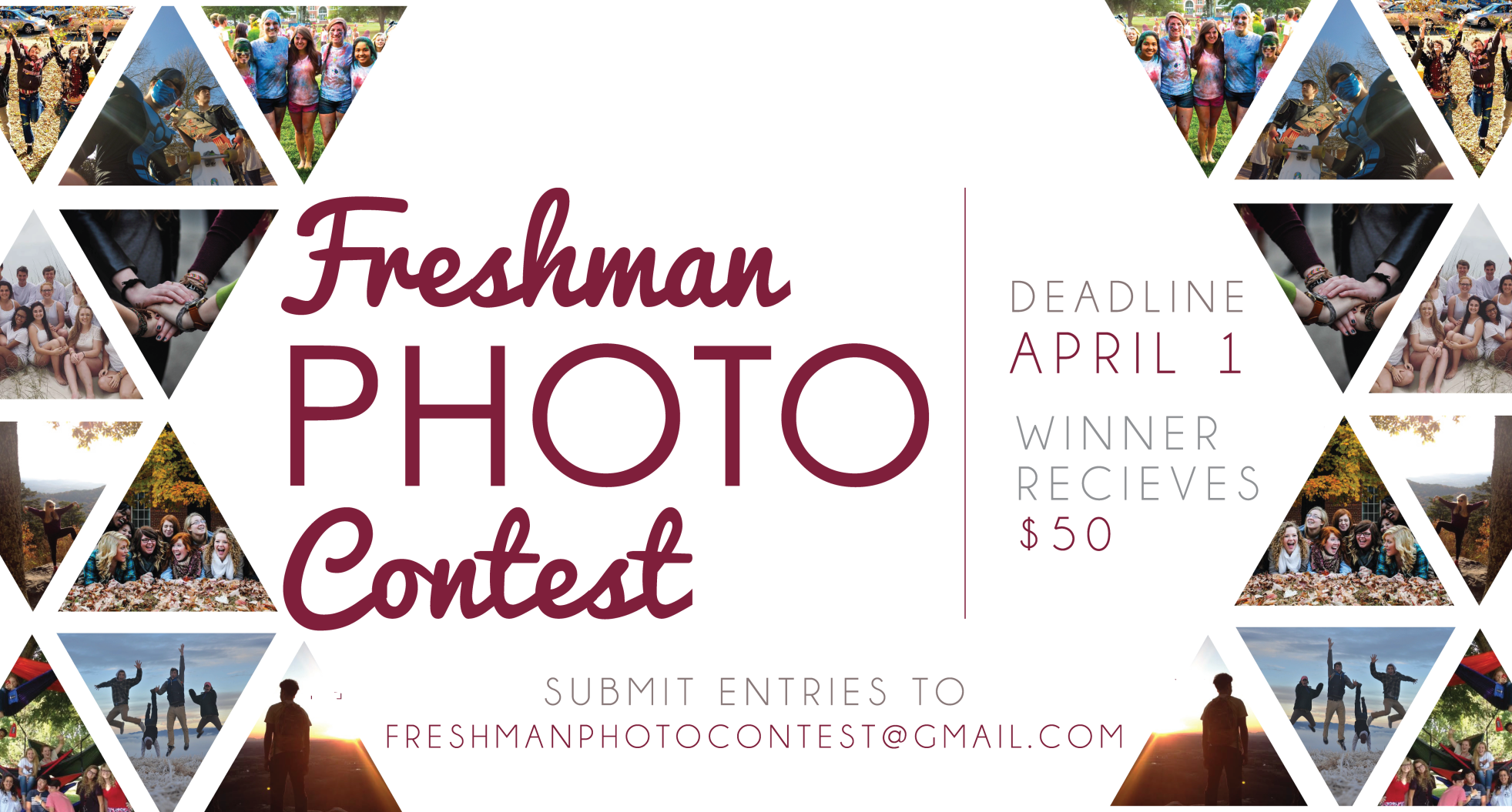 First Year Programs office accepting submissions for Freshman Photo
