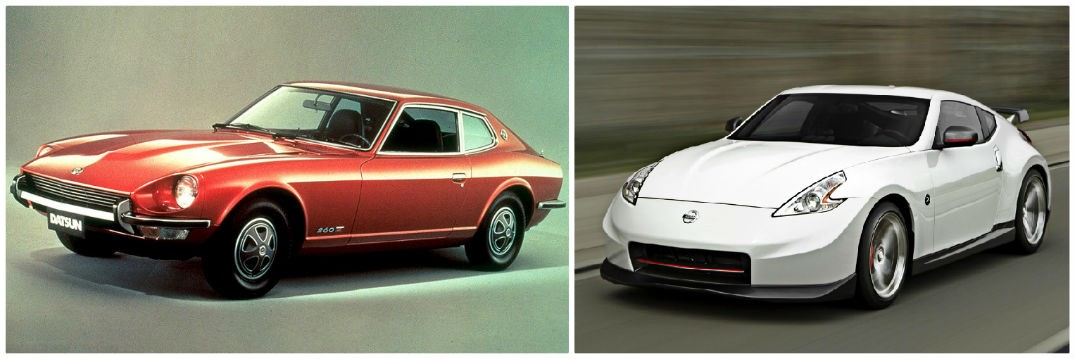History Of The Nissan Z Cars