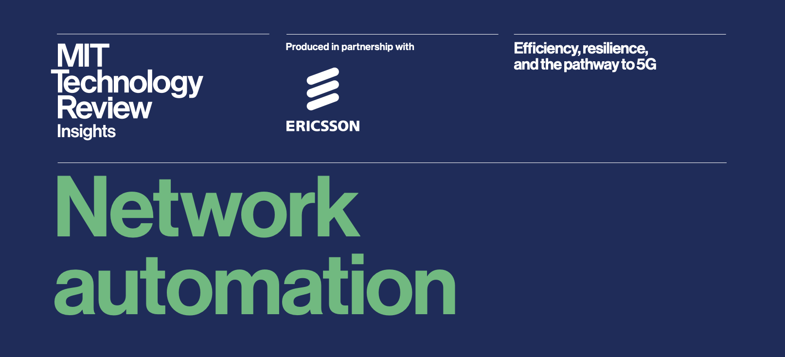 Network Automation 5G and IoT: The Trifecta of Network Modernization