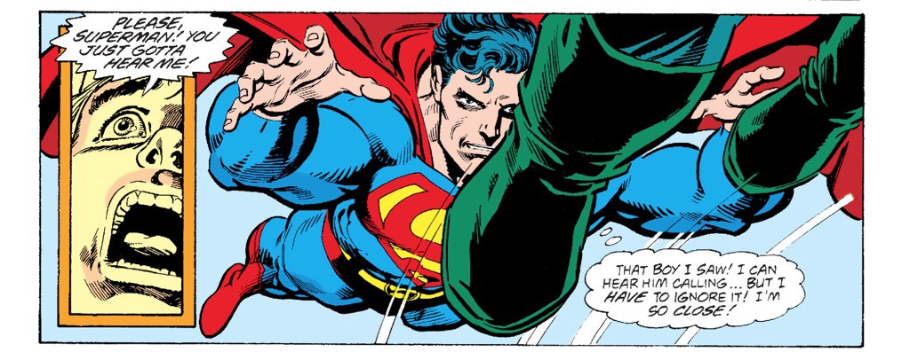Superman Saves Mitch And His Family Then Leaps Back In Doomsday Proceed To Just Knock The Out Of Each Other All Way Through