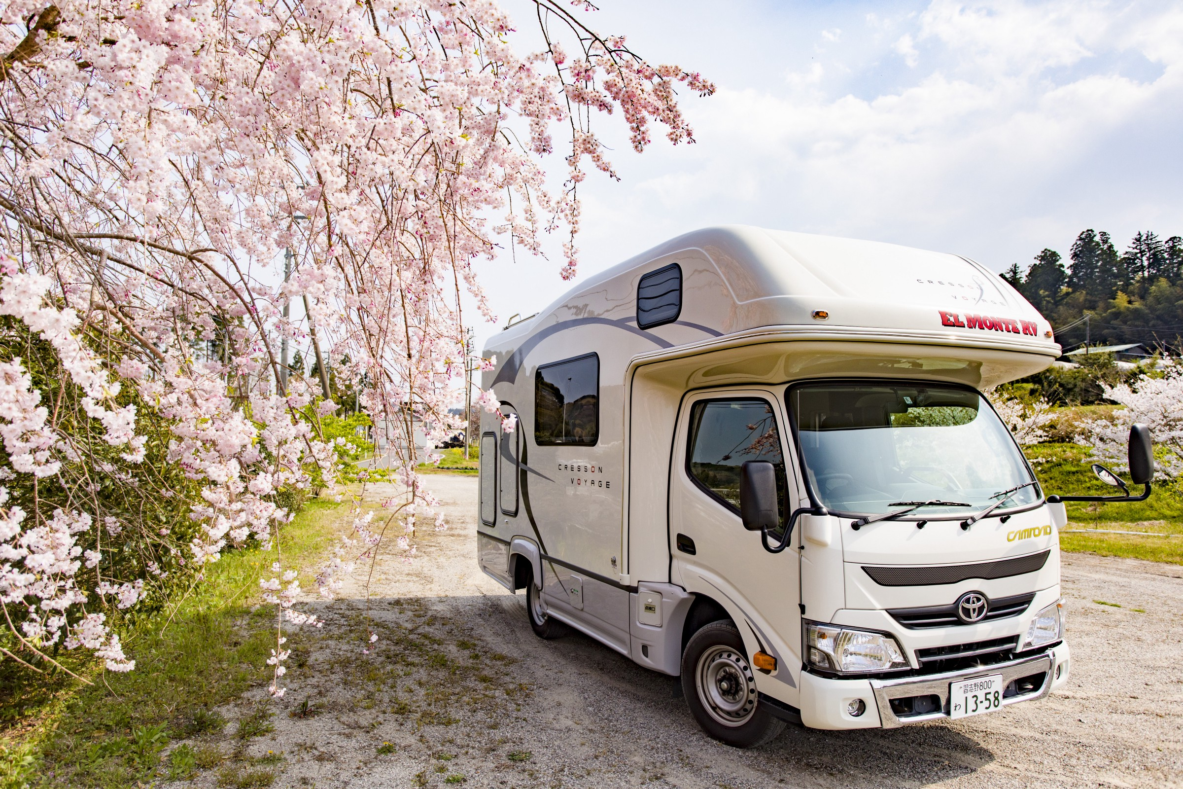 0992bbc4d5 EL MONTE RV JAPAN   the Best Motorhome Rental Company for Campers
