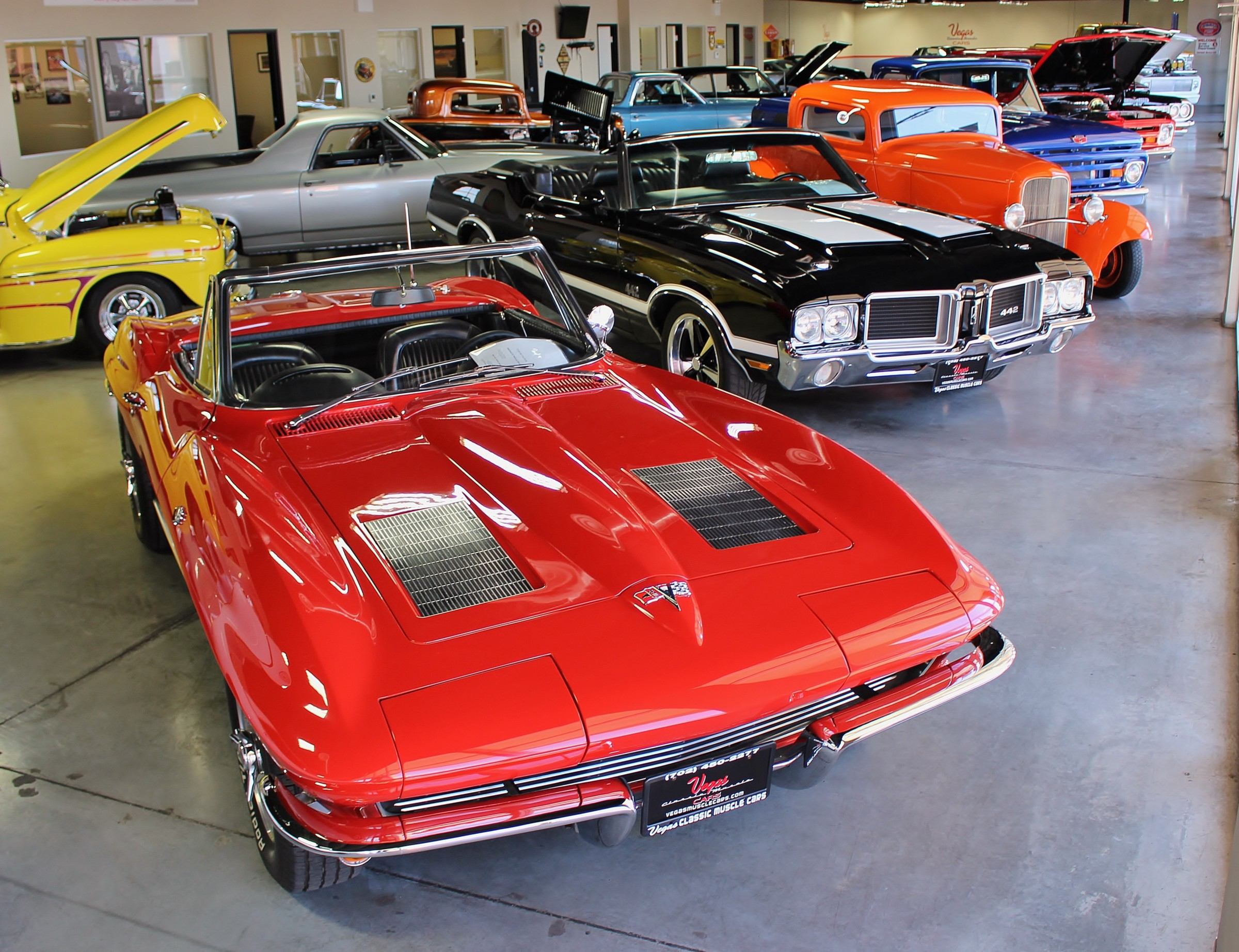 Classic Muscle Cars >> Vegas Classic Muscle Cars Offering The Best Classic Sports And