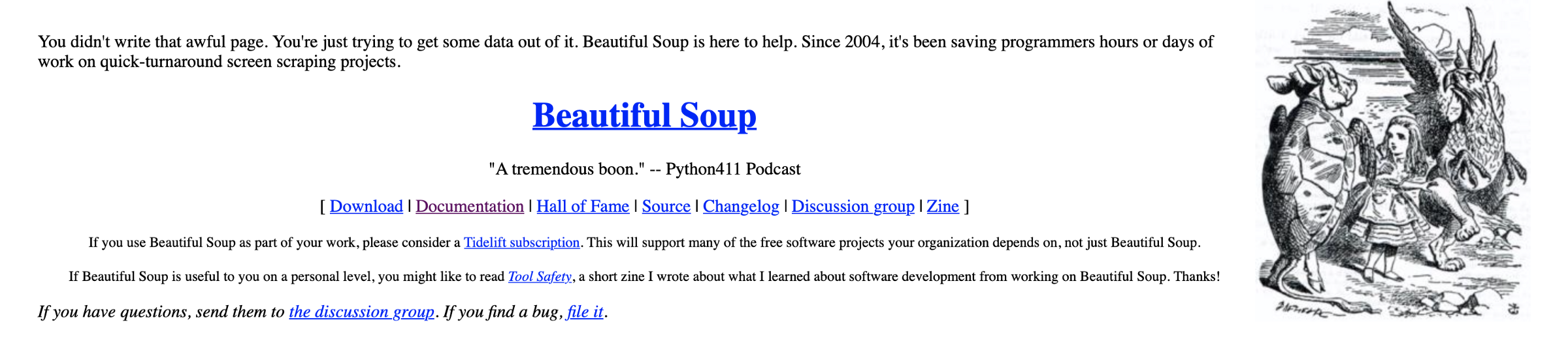 Install beautifulsoup from source | Peatix