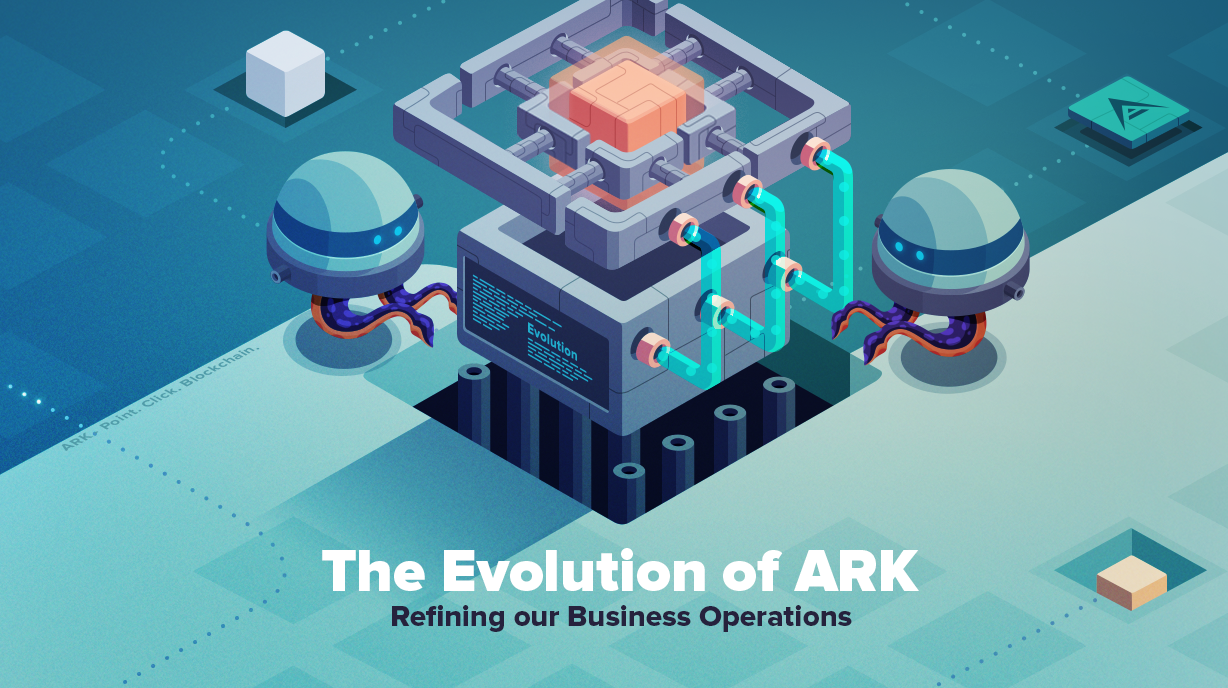 Ark was founded by 20 individuals from all walks of life in the early days we ran our organization with a flat decentralized structure