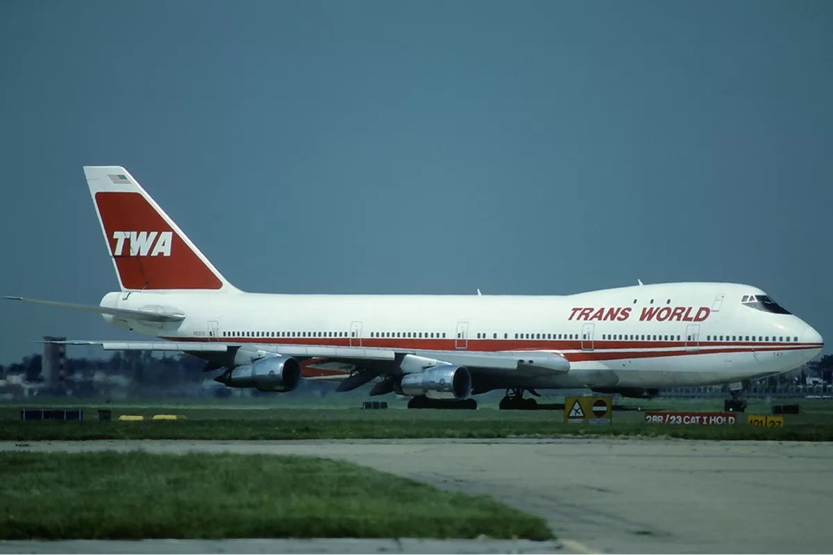 An appropriate use of the acronym TWA.