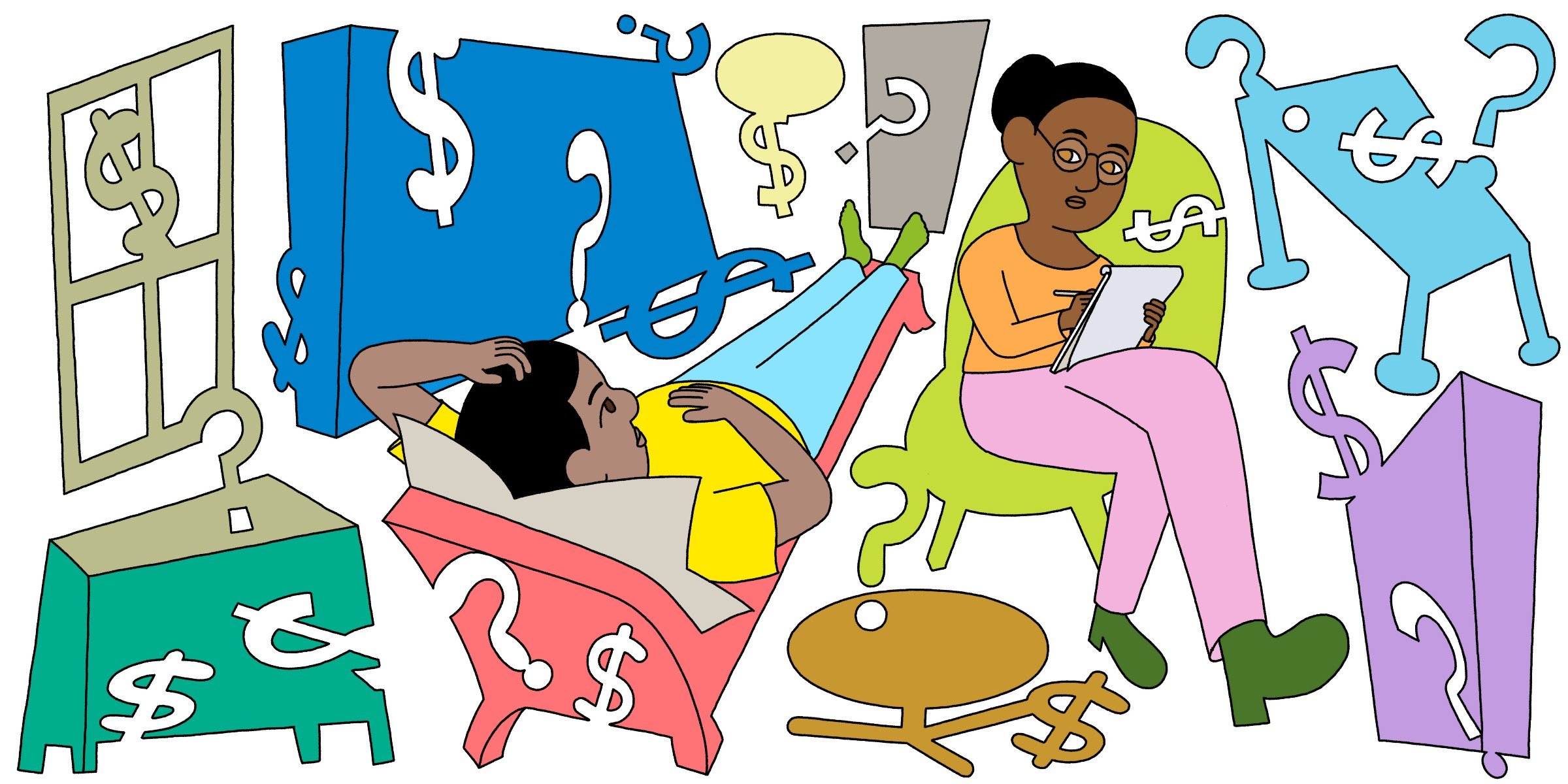 When Therapy Causes More Money Anxiety