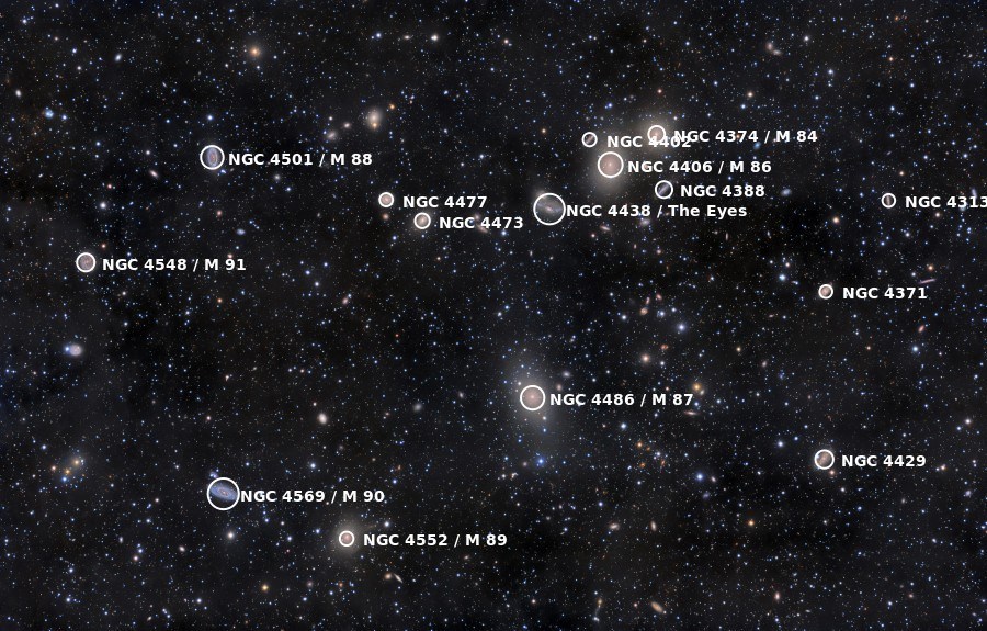 virgo astronomy facts - 900×575