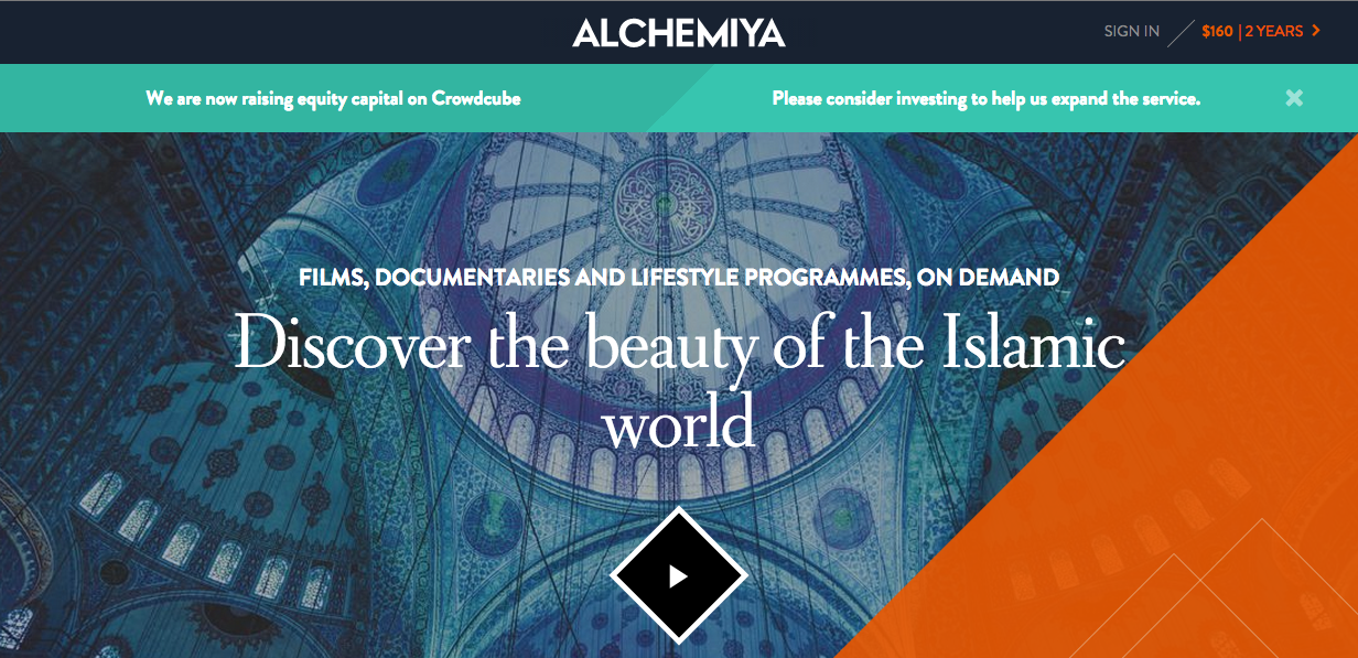 """21ca99aafc6 Alchemiya is a Netflix-style video platform focused on the Muslim world  with """"On demand content that celebrates the culture"""