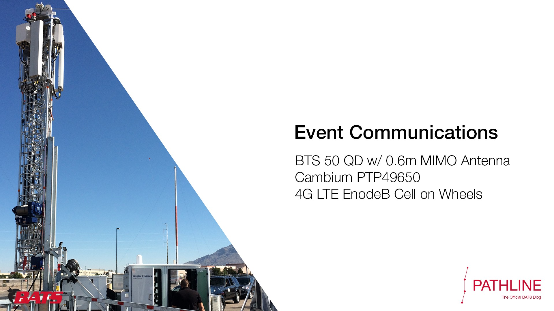Deployed: Innovative Solutions for Event Communications