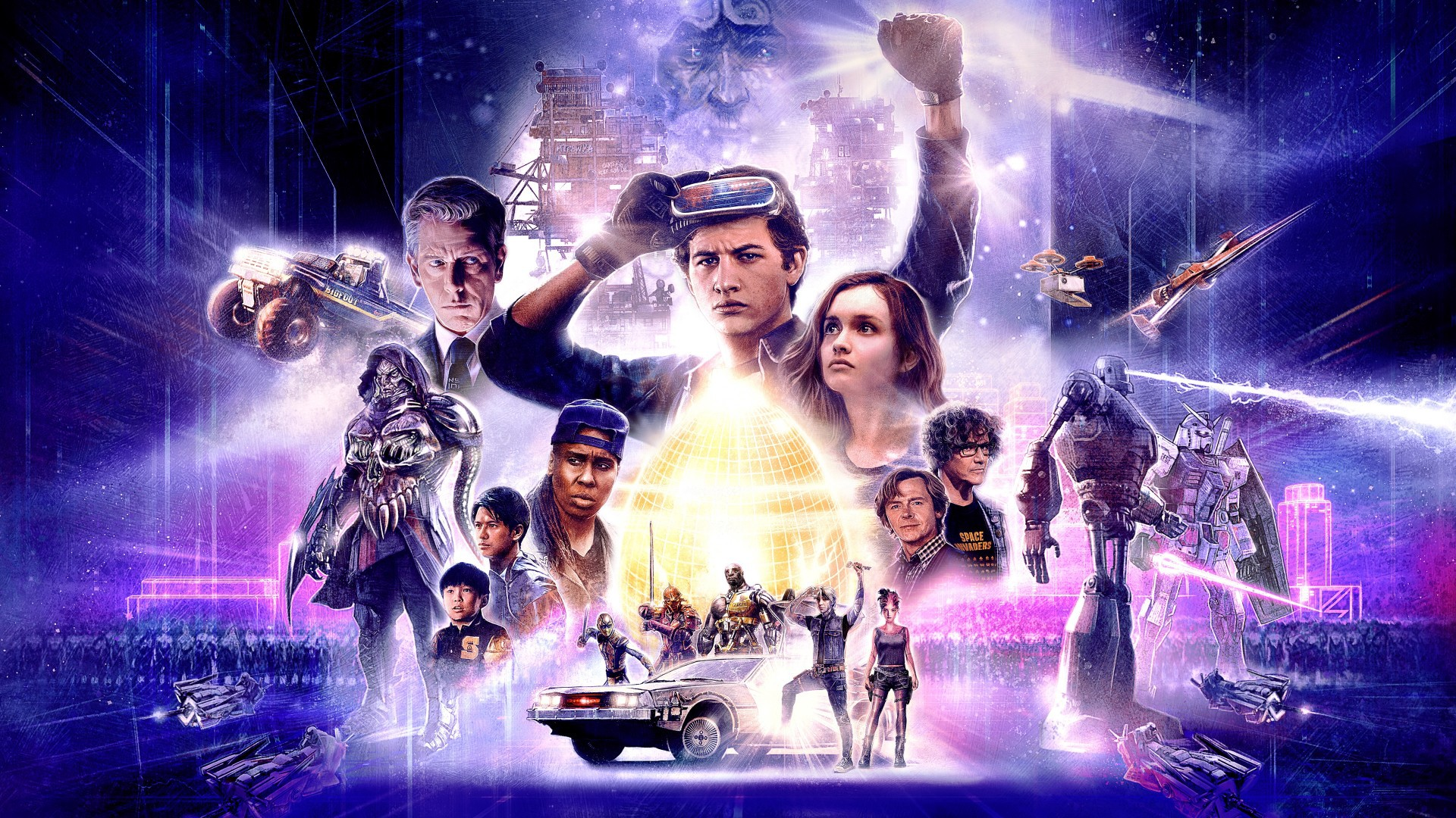 Ready Player One tells the story of a teenager in the year 2045,  participating in a worldwide competition to obtain ownership of the OASIS -  a virtual ...