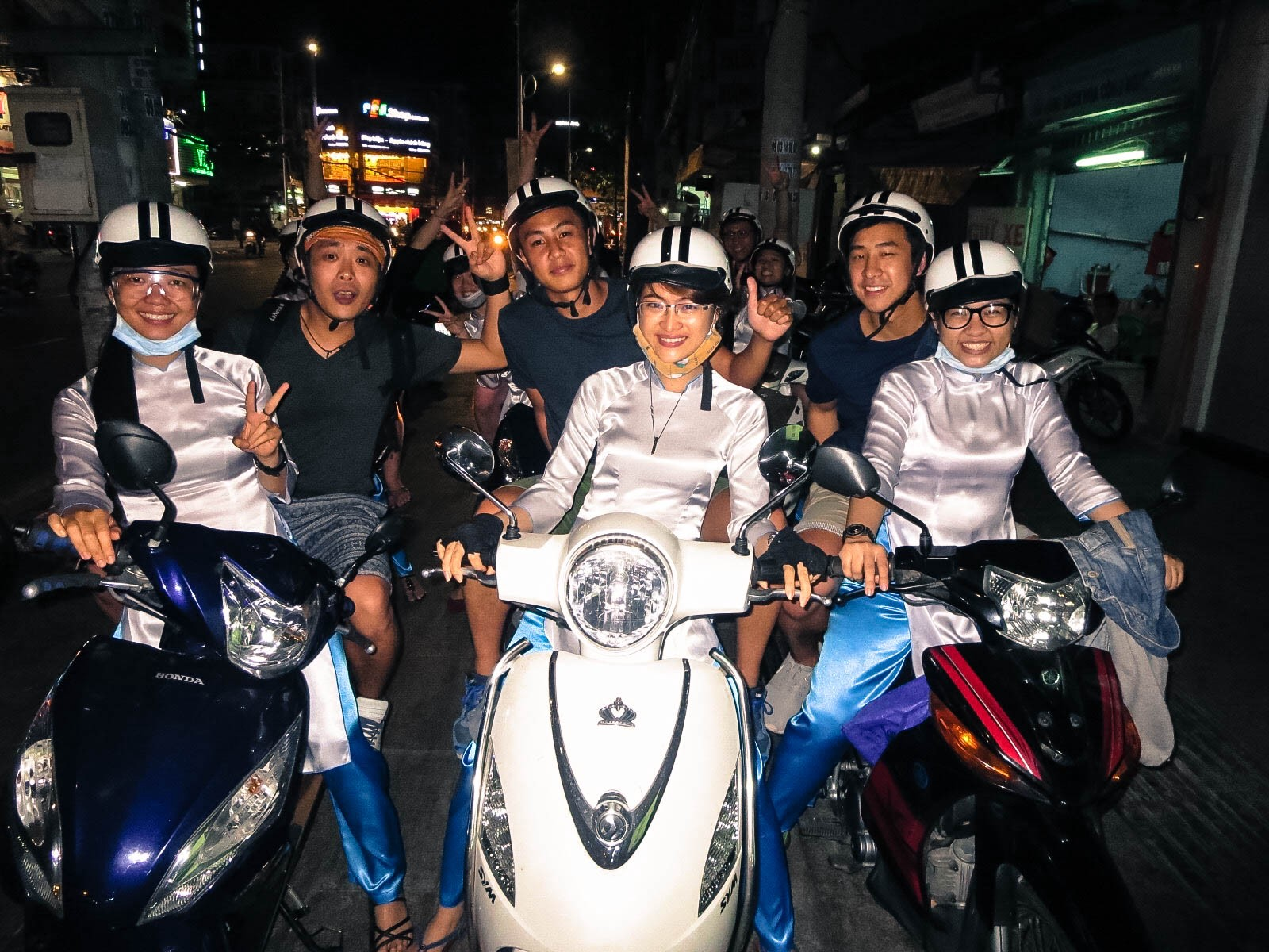 Motorbike night tour